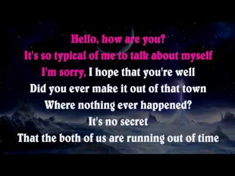 Adele   Hello   Piano Karaoke Instrumental Lyrics Cover Sing Along