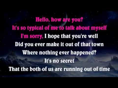 Adele   Hello   Piano Karaoke Instrumental Lyrics Cover Sing Along