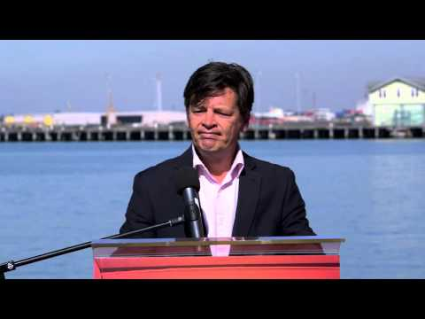 Ports Minister Luke Donnellan discusses 10 years of lifejacket laws in Victoria