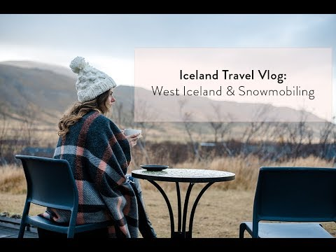 Iceland Travel Vlog: Husafell & Into The Glacier