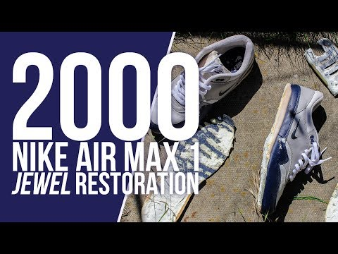 2000 Nike Air Max 1 Jewel restoration