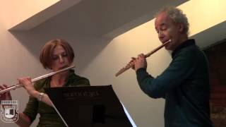 Wilhelm Friedemann BACH. Duet for flute number 2 col Major F59. Olga IVUSHEYKOVA and Felix RENGGLI