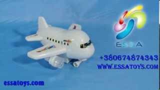 Музыкальный Самолетик от игрушки оптом ЕССА ТОЙС(, 2013-10-27T22:51:06.000Z)