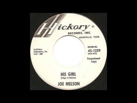 Joe Melson -  His Girl 1963 Hickory ( Tenn)   1229