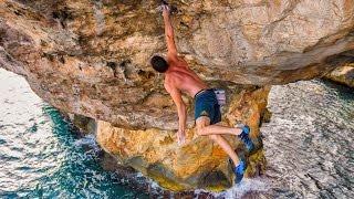 ES PONTAS 9? Second Ascent by Jernej Kruder (2016) Psicobloc Mallorca