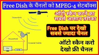 How to free channels of Dish Auto Scan on MPEG-4 Setbox