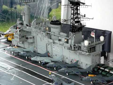 Model Aircraft Carrier - YouTube