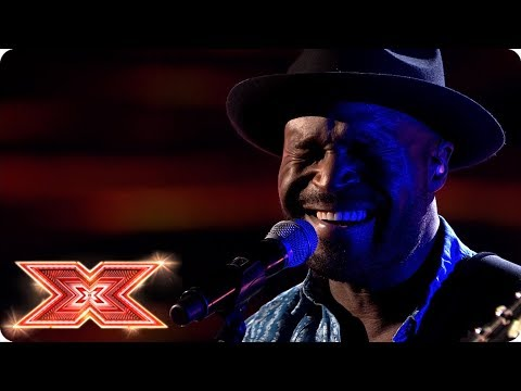Kevin Davy White performs Whitney Houston classic   Shows  The X Factor 2017
