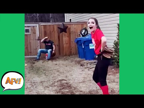 STRAIGHT for The FACE FAILURE! 😂 | Funniest Fails | AFV 2020
