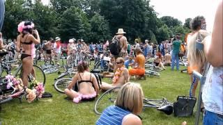 WNBR Brighton Naked Bike Ride Pleasant Revolution 2010