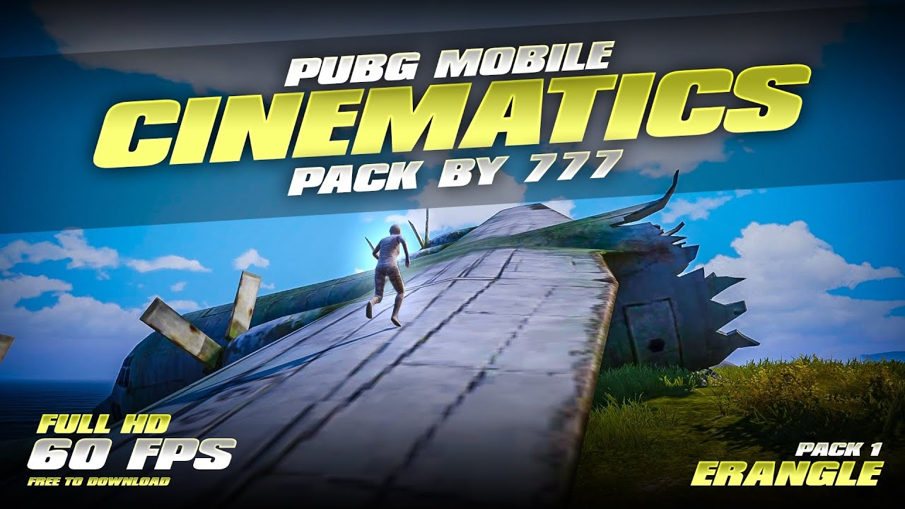 PUBG MOBILE CINEMATICS PACK BY 7 7 7 |  HDR EXTREME 60 FPS | FREE DOWNLOAD