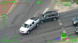 شرطة تكساس تنشر فيديو لمطاردة تثير الإعجاب