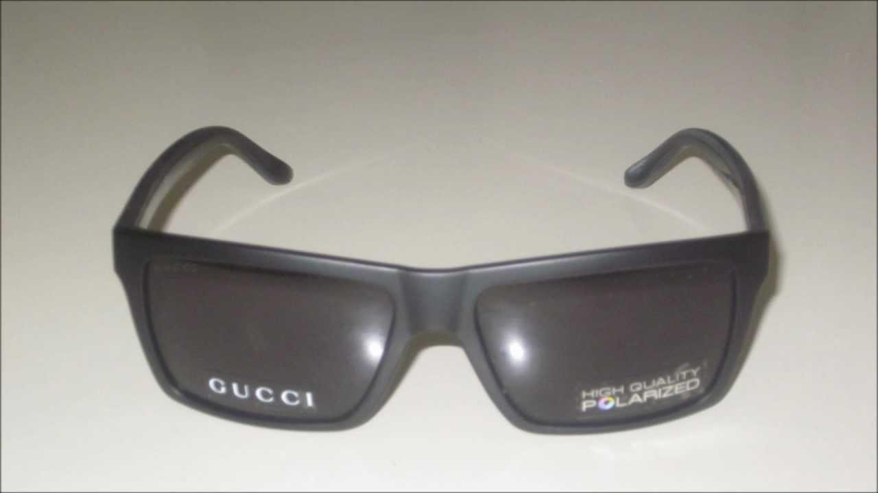 3b0ae95b5b4 Gucci GG 1013 S Polarized 52R3H Sunglasses - YouTube
