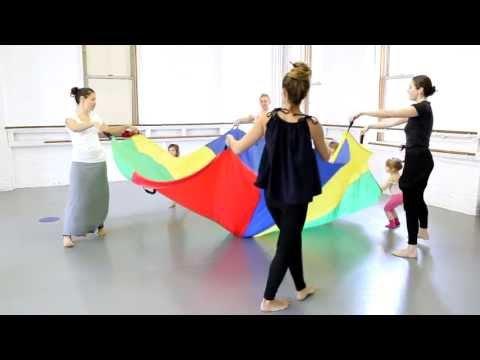 Dance With Me Class - Children's Program At The Joffrey Ballet School NYC