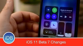 iOS 11 Beta 7 Brings Small Changes Before Widespread Release