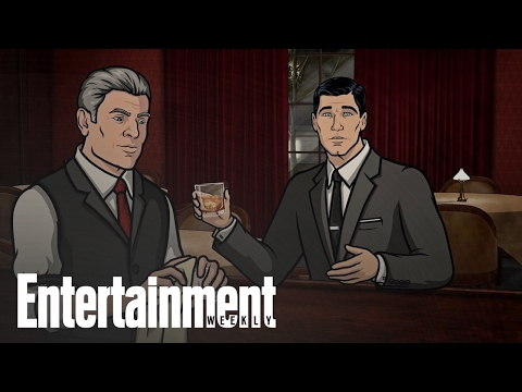 James Bond Films Reviewed By FX's Archer | Entertainment Weekly