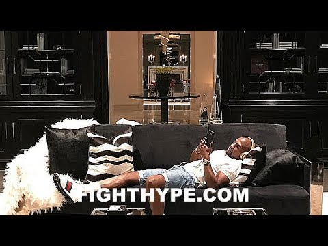 "(WOW!) FLOYD MAYWEATHER'S INSANE ""PALACE"" IN BEVERLY HILLS; INCLUDES 50-PERSON MOVIE THEATER"