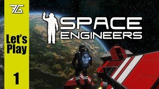 Space Engineers - Ep 1 Into The Void