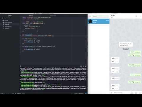 Телеграм бот на NodeJS используя WebHook