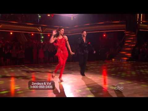 Zendaya & Valentin Chmerkovskiy - Samba - Dancing With the Stars 2013 - Week 10