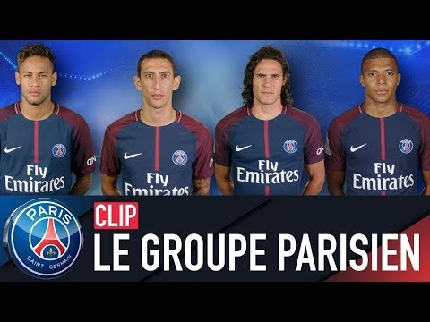 LE GROUPE PARISIEN / PARIS SQUAD : REAL MADRID vs PARIS SAINT-GERMAIN