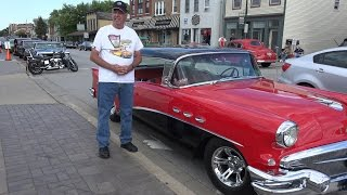 1956 Buick Special - one of Hotrod magazines top choices as well - Lemont Car Show
