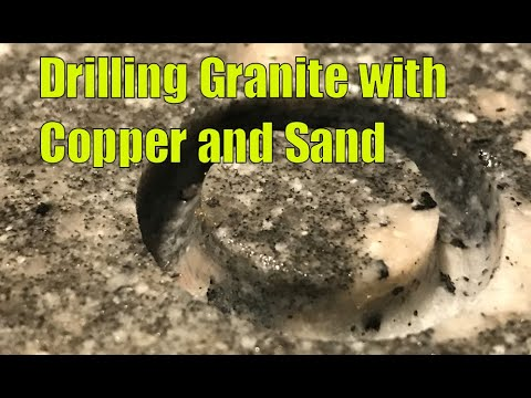 Drilling Granite with Copper & Sand: How to