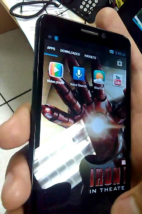 Alcatel One Touch 6030A Idol Hands On Video