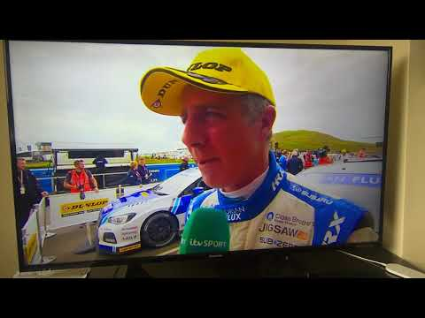 Hilarious Jason Plato Knockhill 2017 Race 2 Interview