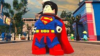 LEGO DC Super-Villains - Superman - Open World Free Roam Gameplay (PC HD) [1080p60FPS]