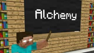 Kindergarten monster school: minecraft animation