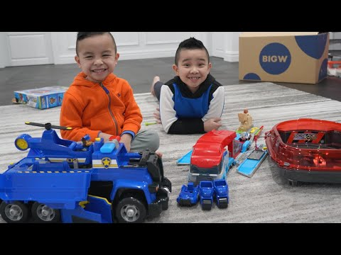 Calvin and Kaison Toy Tester for BIG W Toy Mania CKN