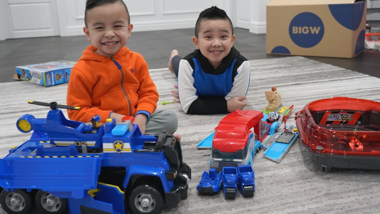 Download Calvin and Kaison Toy Tester for BIG W Toy Mania CKN