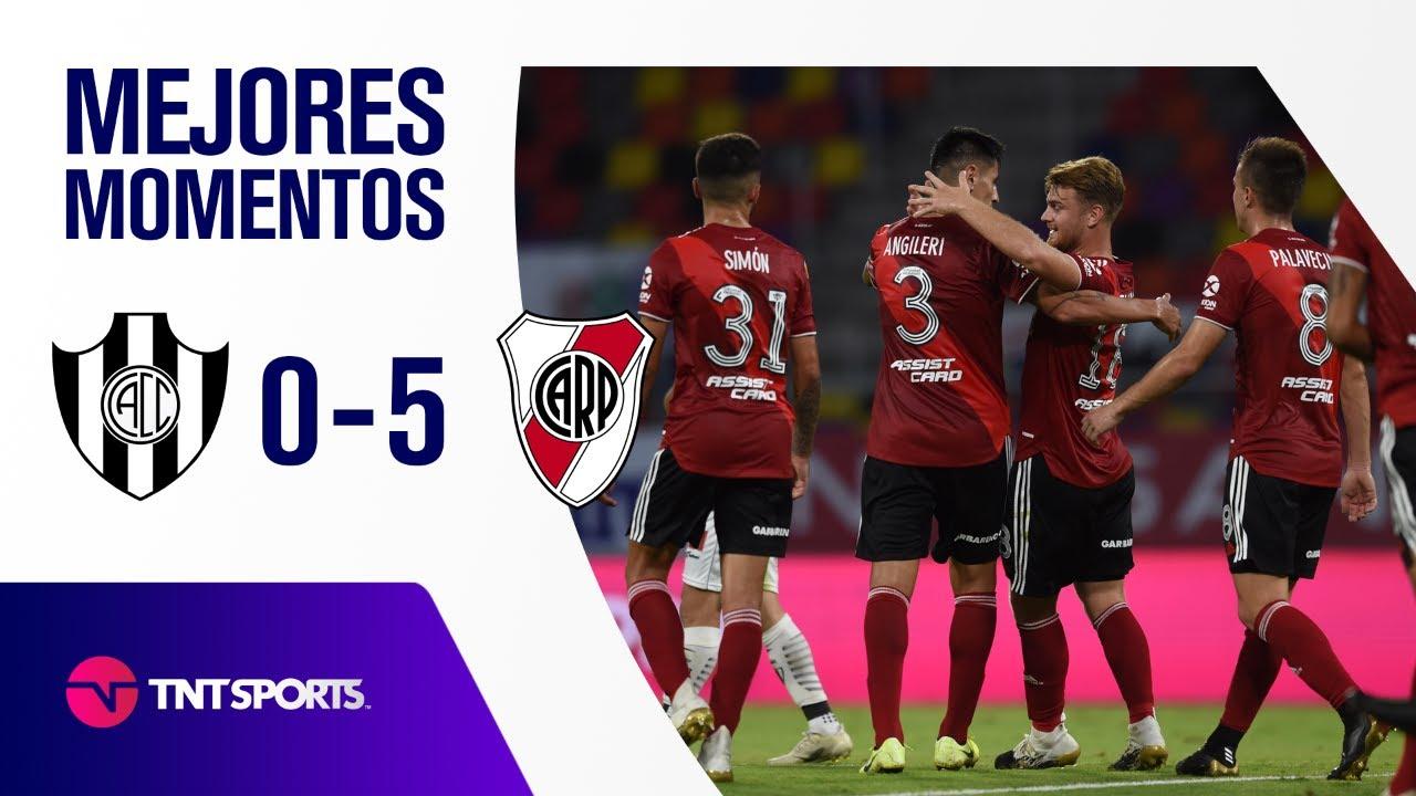 ¡TREMENDA GOLEADA DE RIVER! Central Córdoba SE vs River Plate (0-5) | Zona A - F 10 - Copa LPF 2021