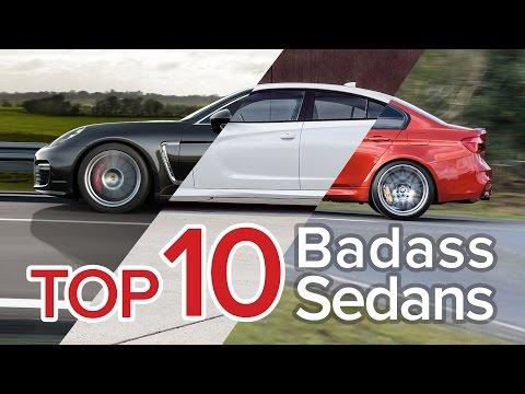 Top 10 Badass Sedans: The Short List