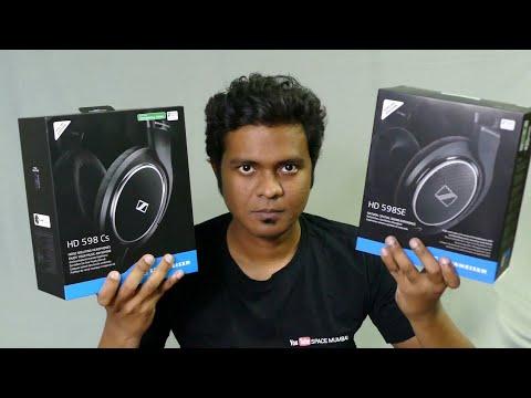 Under $150 Best Headphones?   Sennheiser HD598 Vs HD598 CS Headphones unboxing & First Impressions