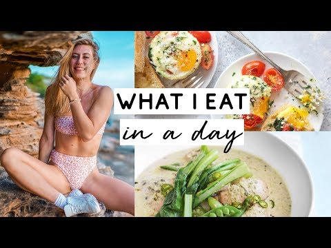 WHAT I EAT IN A DAY | Intuitive eating with EASY RECIPES + LIFE UPDATE