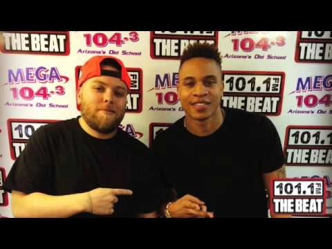 Rotimi interview with James Rivas from 101.1 The Beat