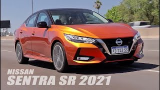 Nissan Sentra SR 2021 - Test - Matías Antico - TN Autos