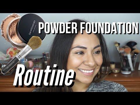 Powder Foundation Routine | Bare Minerals Original Foundation Routine | Natural Everyday Foundation