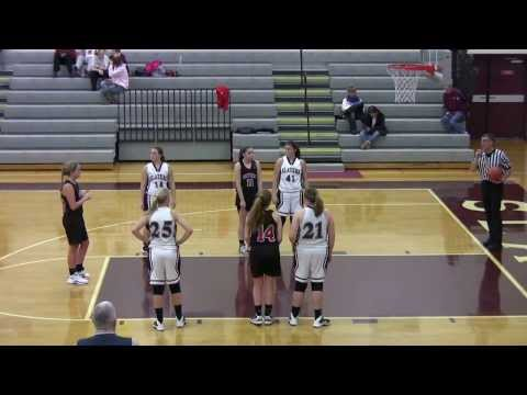 BAHS Girls Varsity Basketball vs Saucon Valley January 9 201