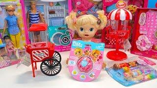 #ИГРУШКИ С РАСПРОДАЖИ Куклы Пупсики Беби Элайв Открываем Игрушки Барби Одежда Для кукол