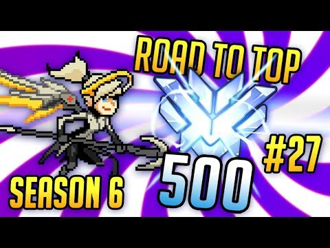 Taking Revenge on Genji - A Mercy's Road to Top 500 - Episode 27 (Hollywood, Watchpoint Gibraltar)