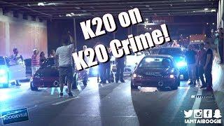 K20 Civic Hatch vs K20 Civic Coupe Head up