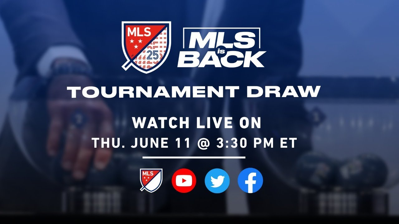 MLS is Back Tournament Draw