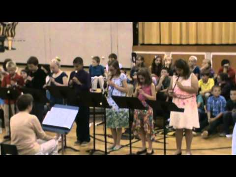 McCordsville Elementary School 4th Grade Concert 2014 Part 3