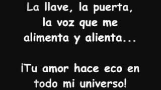 Karaoke- Tu amor hace eco en todo mi universo