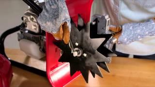 Honda: Honda FG110 - Installing the Aerator Kit  - Honda Tillers