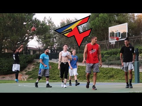 FAZE CLAN BASKETBALL 3V3!! (Rain, Blaze, Temperrr vs. Adapt, Apex, Sensei)