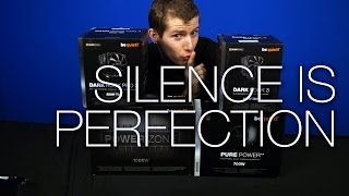 Be Quiet! Showcase ft. Dark Rock 3 Pro, 1000W Power Zone, Pure Power, and Silent Wings 2